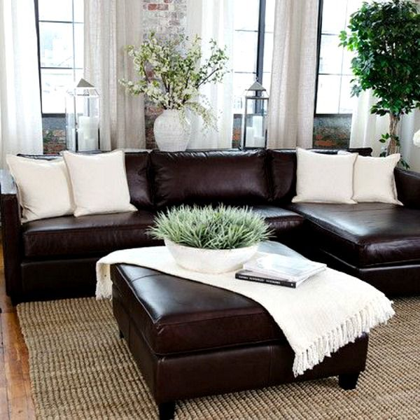 Tips For Decorating With Leather Furniture Cozy Little House Brown Living Room Decor Relaxing Living Room Brown Couch Living Room