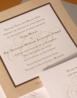 i like the simplicity of this letterpress