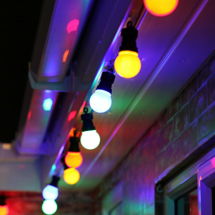 97 best a colourful christmas images on pinterest merry 8m multi coloured outdoor festoon lights festive lights ltd mozeypictures Choice Image