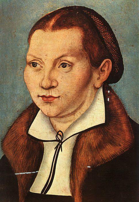 Portrait of Katharina von Boyra, Lucas Cranach