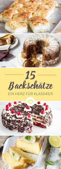 15 Kuchenklassiker aus Omas Backbuch