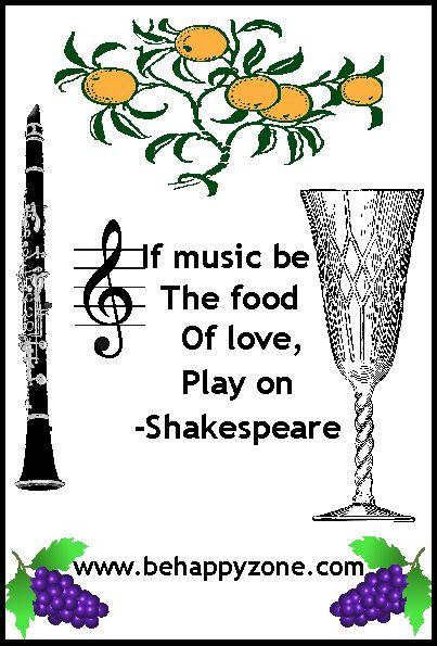 Poems & Quotes Finder: Happy Birthday William Shakespeare! Menu & Activities