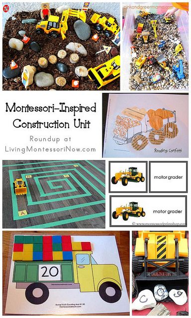 Blog post at LivingMontessoriNow.com : A construction unit is fun for preschoolers at any time of year. I especially like a construction theme in the summer because of its high in[..]