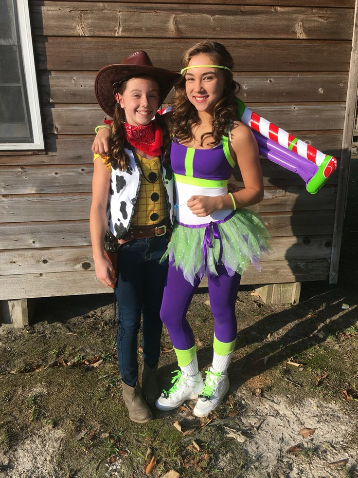diy homemade teen toy story buzz light year and woody halloween costumes adorable with andy - Easy Homemade Halloween Costumes For Teenage Girl