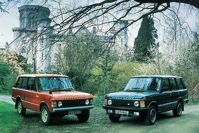 Not one - but two! By @landrovernederland #landrover #rangerover #rangeroverclassic #landroverphotoalbum #rangeroverclassic2dr