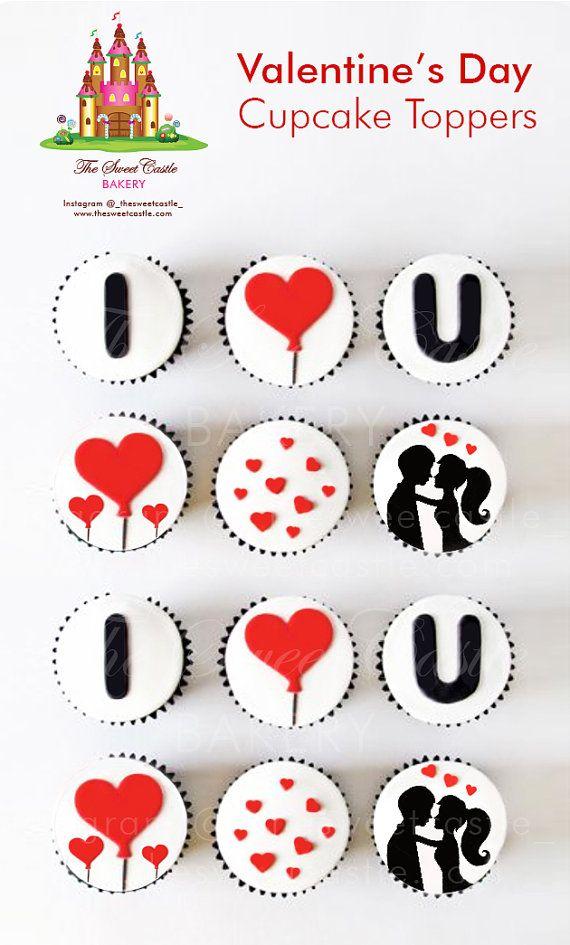 12 día de los enamorados comestibles por TheSweetCastleBakery