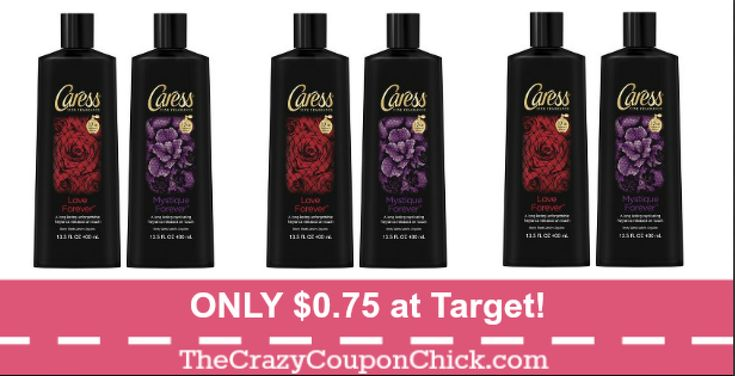 Super EASY! Caress Body Wash ONLY $0.75 at Target!