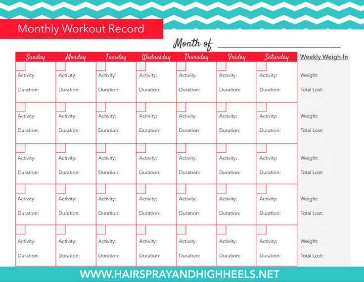 Number Names Worksheets exercise charts free printable : 1000+ ideas about Workout Log on Pinterest | Workout log book ...