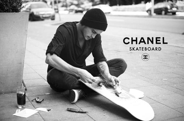 Le skateboard chic selon Kamel Gondry: la nouvelle fusion street-chicViaprestige Lifestyle