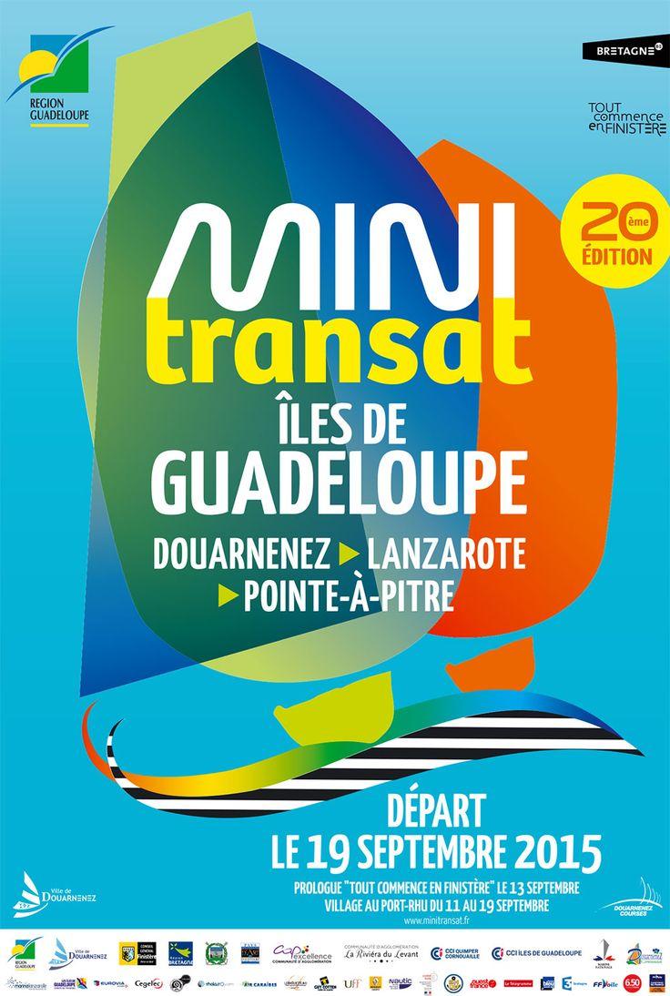 Affiche Mini Transat, édition 2015 #Mini Transat #MT2015 #Douarnenez