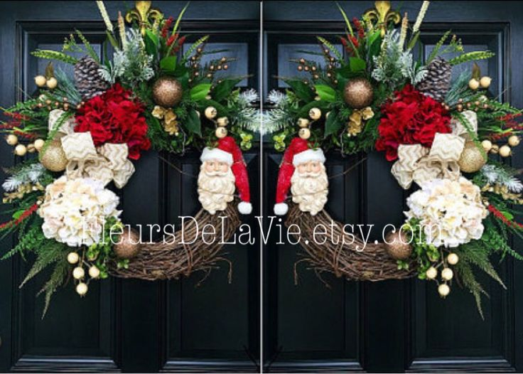 A Personal Favorite From My Etsy Shop Double Door WreathsFront