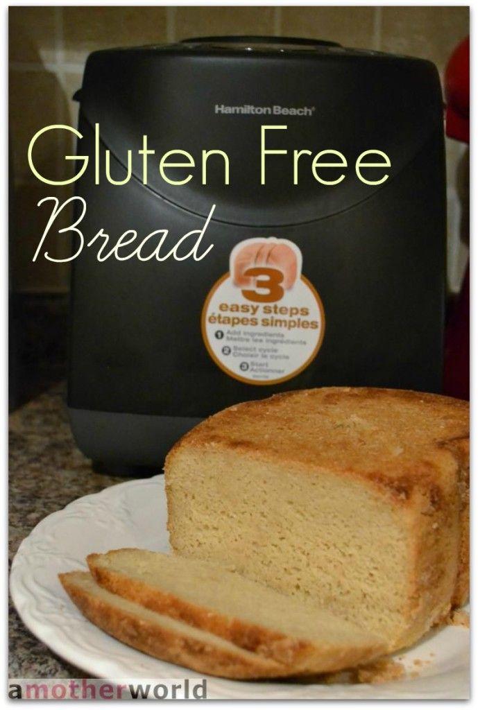 Gluten free bread #recipe with the Hamilton Beach breadmaker #HBSocialKitchen #GlutenFree