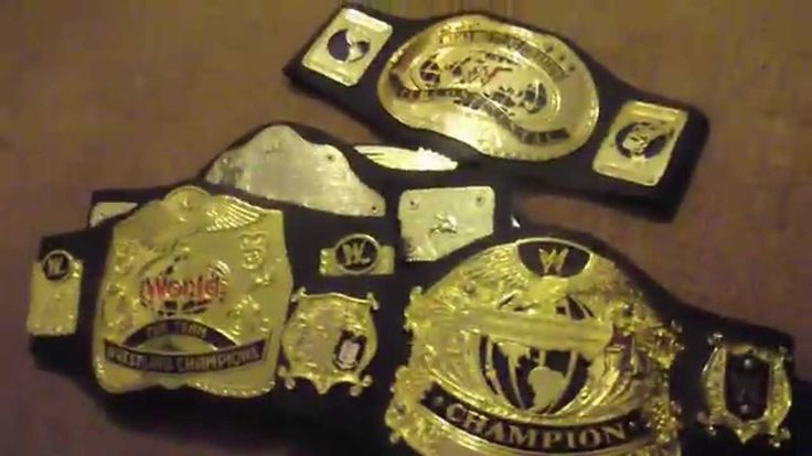 quick video review of some wwe wrestling belts we have in our collectables website, these are collectable retro childrens size foam backed play belts eternia...