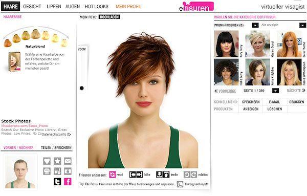 Frisuren Ausprobieren