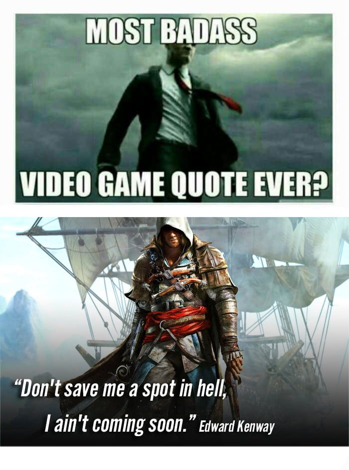 Related Image Video Game Quotes Game Quotes Badass Quotes
