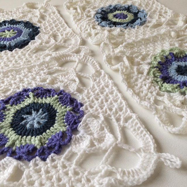 Mejores 12 imágenes de rustic lace square en Pinterest | Patrones de ...
