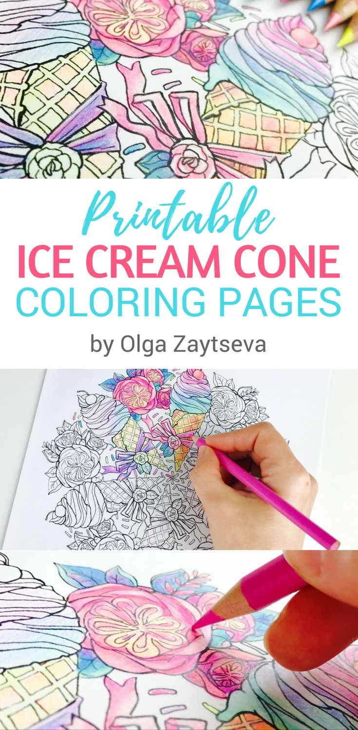 Best 25 Ice cream coloring pages ideas on Pinterest Ice