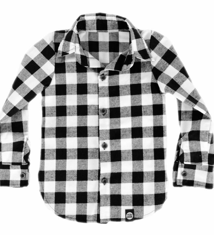 Kids YG Flanno - White/black / Yeahgnar