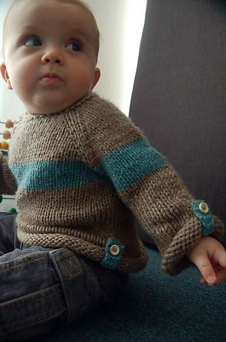 Ravelry: Baltic Baby Sweater pattern by Lisa Chemery