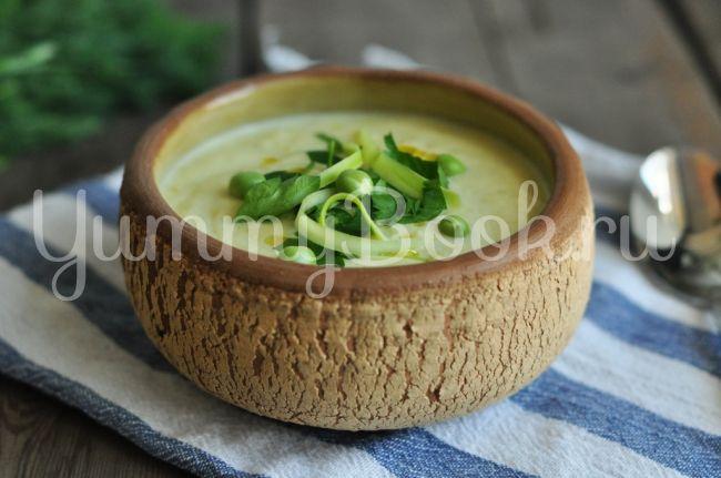 Суп-пюре из кабачков - пошаговый рецепт с фото