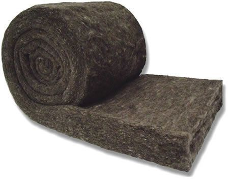Peak Oak: Sheeps Wool Insulation Comfort Rolls - Peak Oak