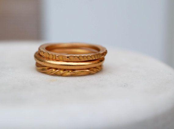 22 k GOLD RING  Hochzeitsband  hohe Karat von TheRingForgeWedding