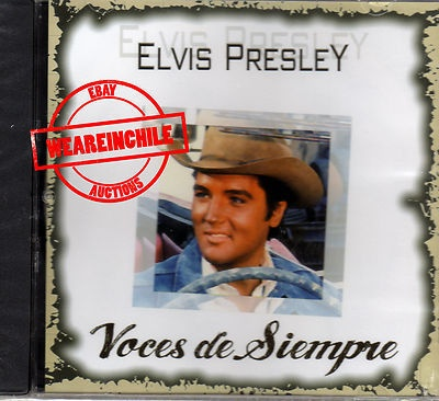 Elvis Presley Voces de Siempre rare cd made in Chile