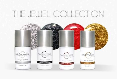 The Jewel Collection by GelMoment. We present our Christmas colours! Easy to use , GelMoment is a high quality DIY gel polish. Purchase through my link: