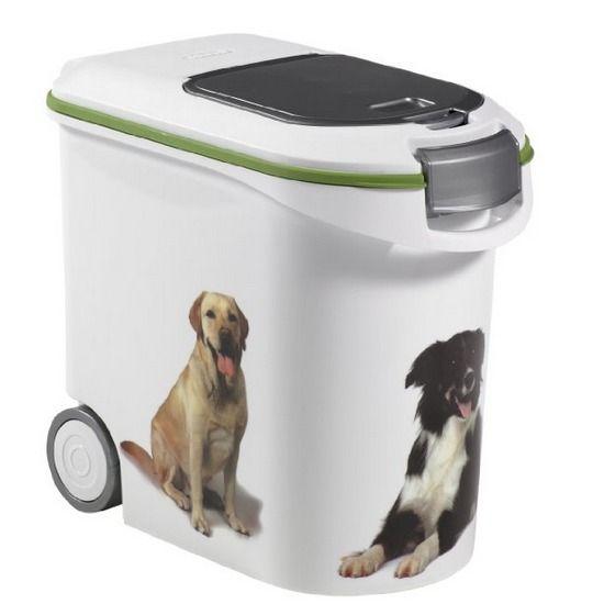 Contenedor de comida para perros
