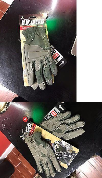 Tactical Gloves 177898: Blackhawk Tactical Ranger Green Solag Kevlar Gloves Medium Med BUY IT NOW ONLY: $40.0