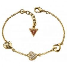 Guess Triple Heart Bracelet UBB71333