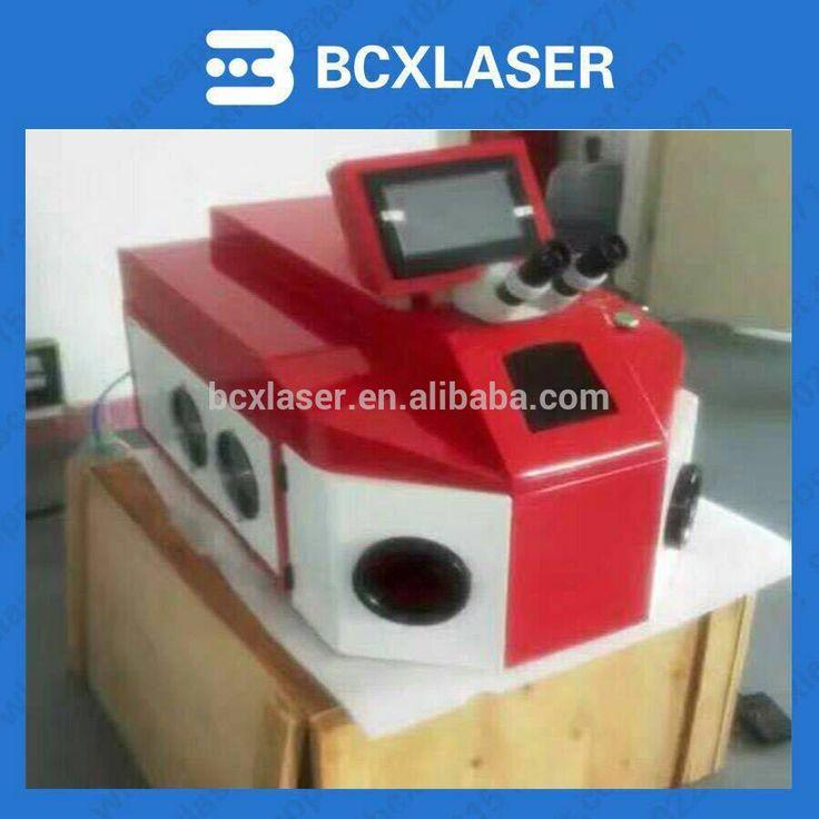 High Precision YAG Spot Laser Welder Jewelry laser Welding Machine for Gold Silver Copper for sale