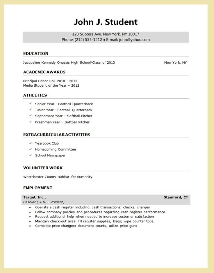 48 best resume formats images on Pinterest | Resume, Creative ...