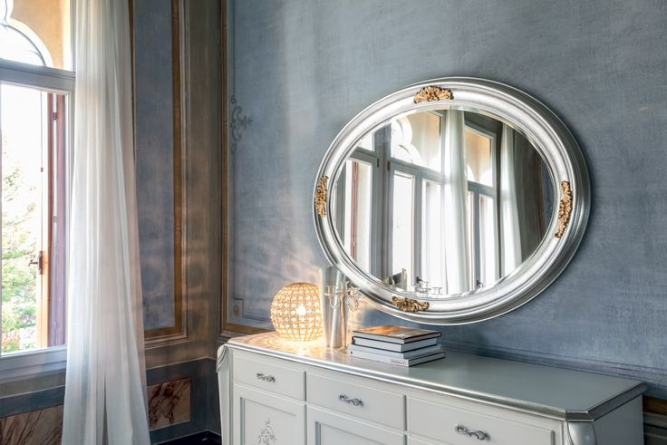 Specchiera in stile classico modello Flora di Tonin Casa
