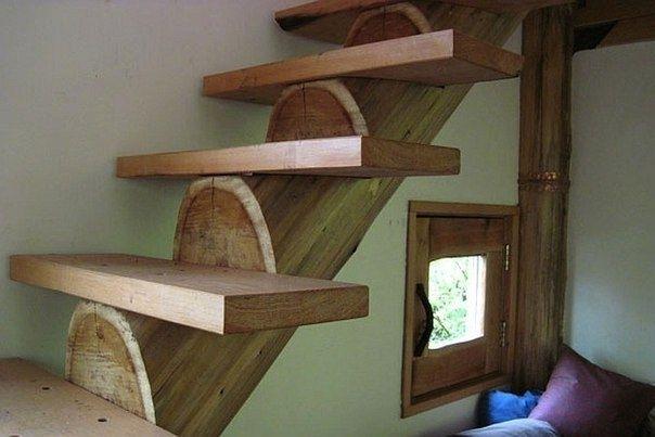 Бюджетный домик в лесу - Дизайн интерьеров | Идеи вашего дома | Lodgers