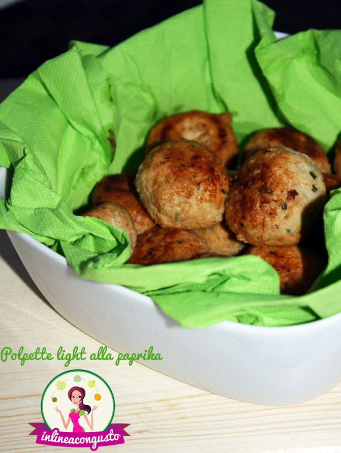 Polpettine light alla paprika