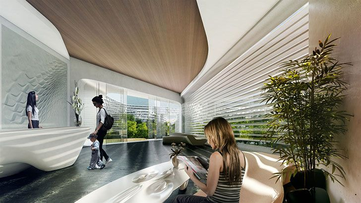 Zaha Hadid Architects have unveiled their honeycomb-like design for a residential development in Monterrey, Mexico.
