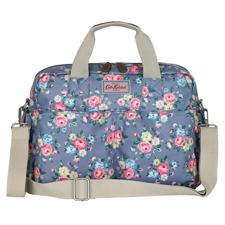 Latimer Rose Double Pocket Nappy Bag | Changing Bags and Accessories | CathKidston