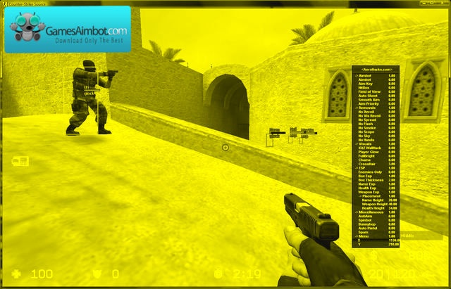 Make your game more visible, to be able to see your enemies more easy with our gamma cheat, you can change the color of your game, or the enemie player,or only the head color, with our css hack, we also offer css aimbot and css wallhack and another game hacks, you can find more on our page  http://www.gamesaimbot.com/2012/12/download-counter-strike-source-aimbot.html