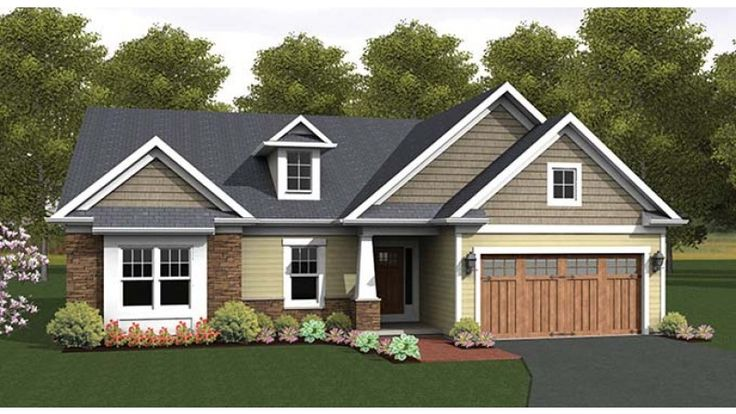 Eplans ranch house plan craftsman accented ranch 1818 for Eplans craftsman house plan