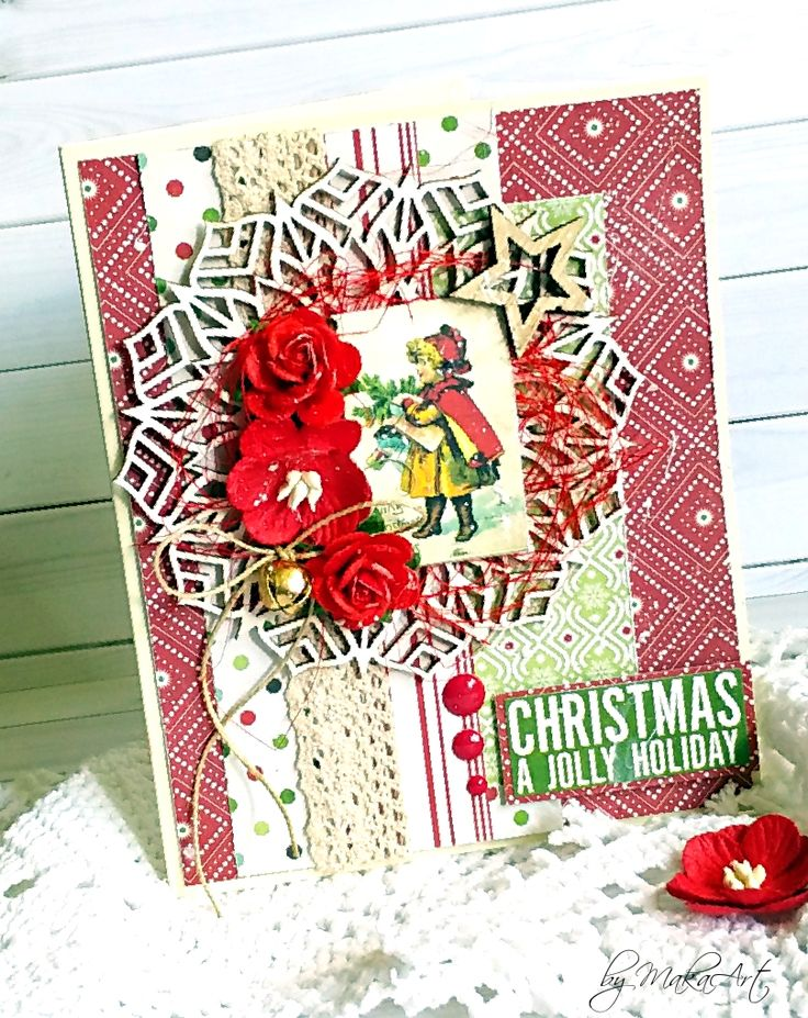 """Christmas Cards 2017 - June Welcome again!       TheJune theme on the blog """"Kartki świąteczne 2017""""  is called      """" Christmas card by following a recipe """"     ..."""