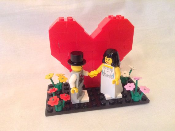 98 best Lego Wedding Cake Toppers Etsy images on Pinterest | Lego ...