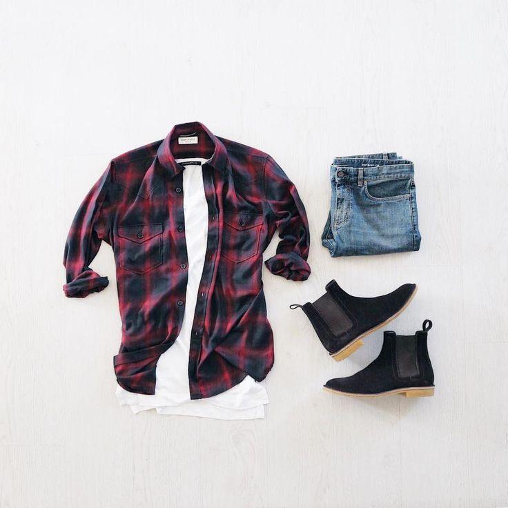 Outfit grid - Popular checks