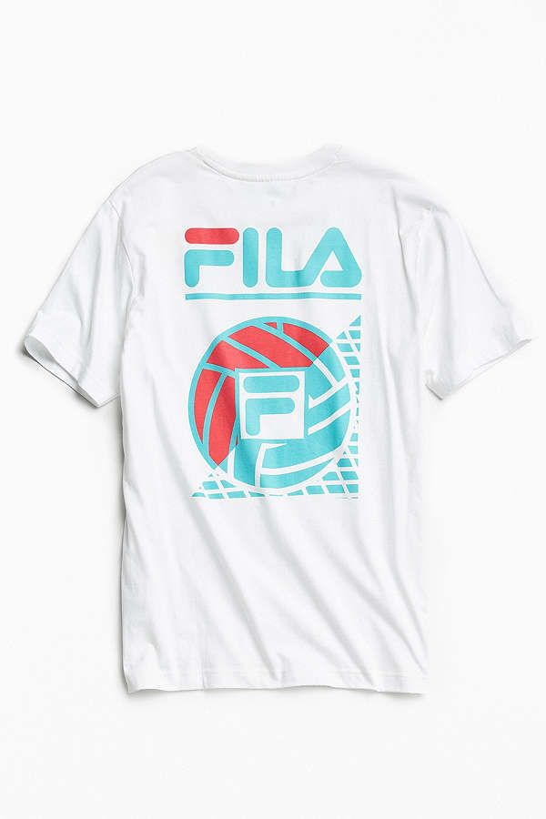 Slide View: 1: FILA + UO Volleyball Casoli Tee