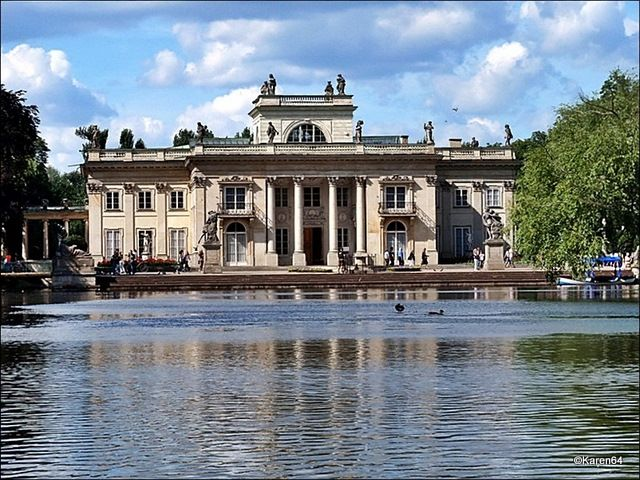 Warsaw, Łazienkowski Palace 1784, Dominik Merlini