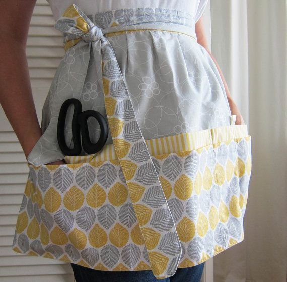Hey, I found this really awesome Etsy listing at https://www.etsy.com/listing/198606854/cafe-apron-hip-apron-half-apron-with