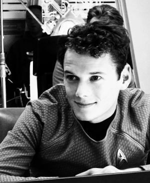 Anton Yelchin as Pavel Chekov may he rest in peace