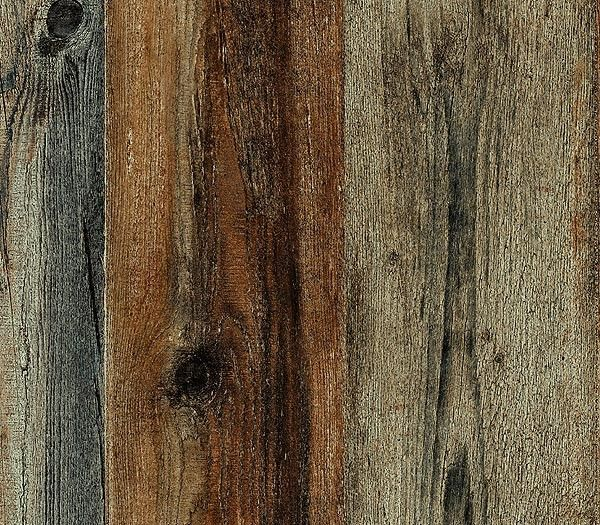 Interior place walnut faux wood plank wallpaper - Faux wood plank wallpaper ...