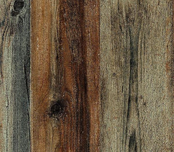 Interior place walnut faux wood plank wallpaper - Faux wood plank wallpaper ...
