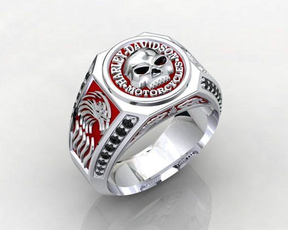 Harley Davidson MotorCycles Sterling Silver 925 by